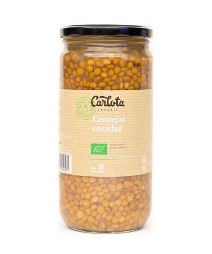 Carlota Organic - Bio cooked lentils 660g