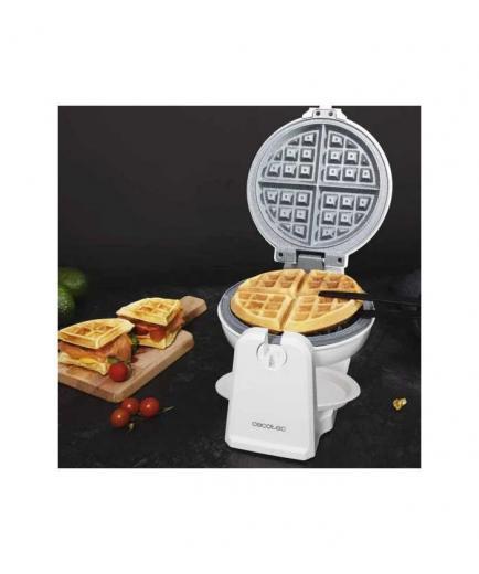 Cecotec - Fun Gofrestone Sphere Waffle Maker