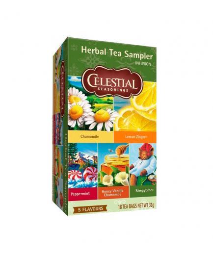 Celestial Seasonings - Infusion 20 sachets - Herbal Tea Sampler