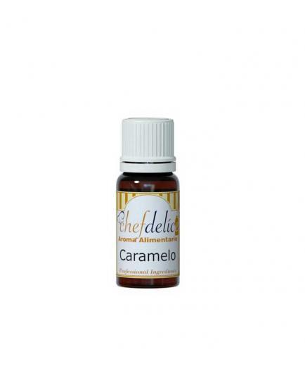 Chefdelice - Liquid flavor gluten free 10ml - Caramel