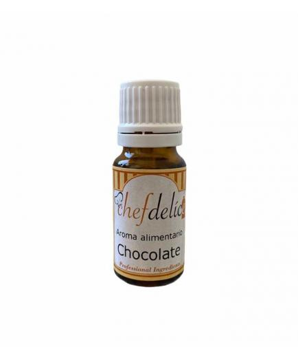 Chefdelice - Liquid flavor gluten free 10ml - Chocolate
