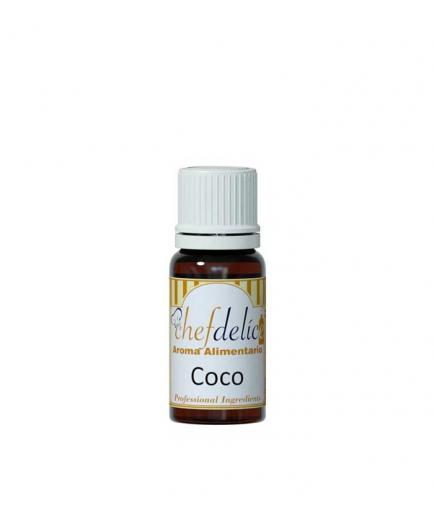 Chefdelice - Liquid flavor gluten free 10ml - Coconut