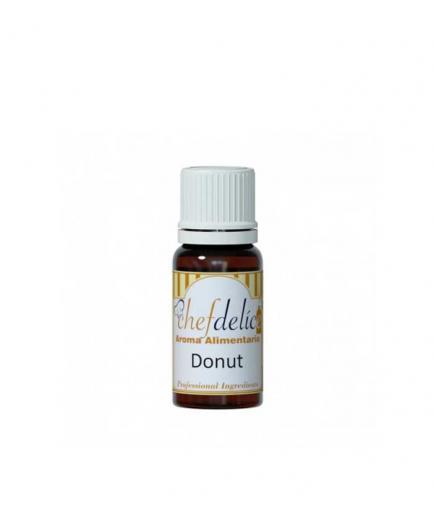 Chefdelice - Liquid flavor gluten free 10ml - Donut