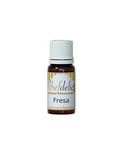 Chefdelice - Liquid flavor gluten free 10ml - Strawberry