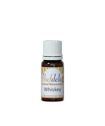 Chefdelice - Liquid flavor gluten free 10ml - Whiskey