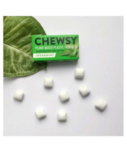 Chewsy - Vegan and gluten-free chewing gum - Spearmint