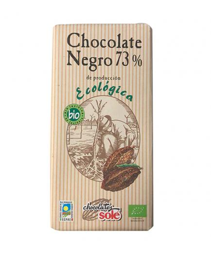 Chocolates Solé – 73% dark chocolate - 100gr