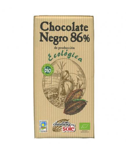 Chocolates Solé – 86% dark chocolate