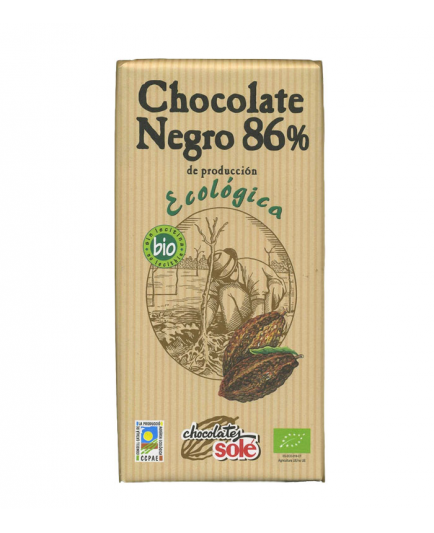Chocolates Solé - Chocolate negro 86%