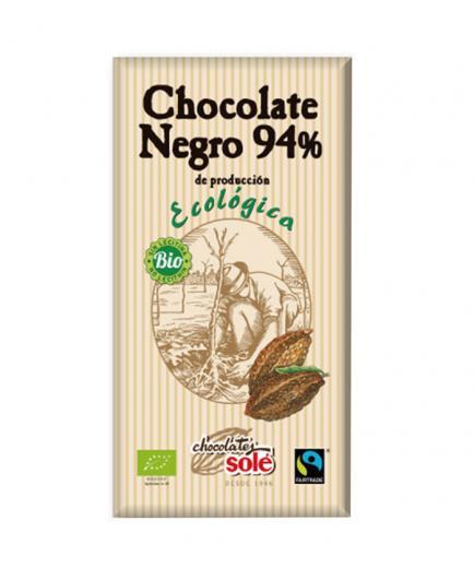 Chocolates Solé – 94% dark chocolate