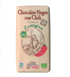 Chocolates Solé - Chocolate negro con chili 73% cacao