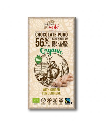 Chocolates Solé – Dark chocolate with ginger