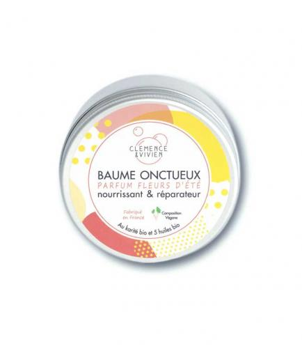 Clémence & Vivien - Multipurpose Shea Balm and Organic Oils - Summer Flowers