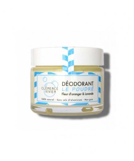 Clémence & Vivien - Natural deodorant cream - Orange Flower and Lavender