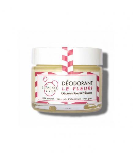Clémence & Vivien - Natural deodorant cream - Lavender and palmarosa