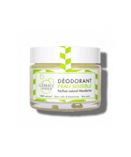Clémence & Vivien - Natural deodorant cream Sensitive skin - Tangerine