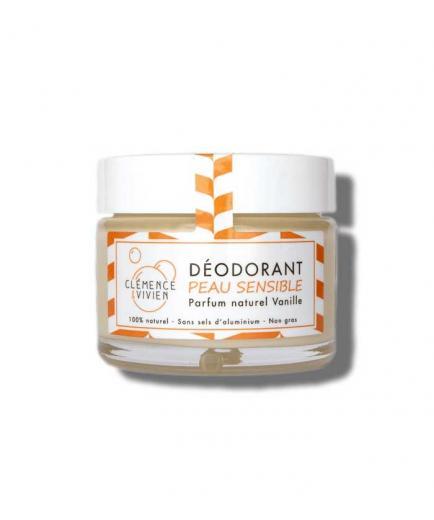 Clémence & Vivien - Natural deodorant cream Sensitive skin - Vanille