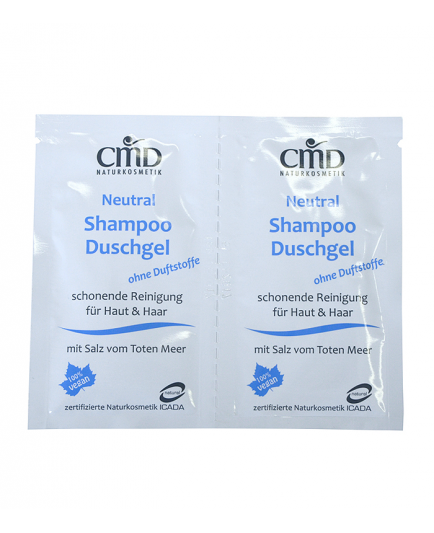 CMD Naturkosmetik - Shampoo and shower Gel Mini - Neutral