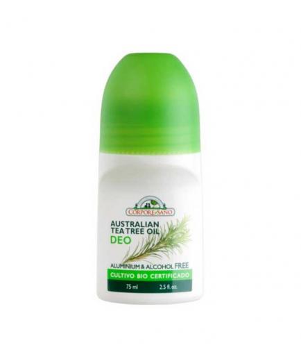 Corpore Sano - Roll on deodorant 150ml - Tea tree oil