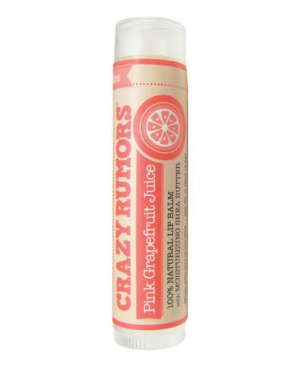 Crazy Rumors - Lip Balm - Pink Grapefruit Juice