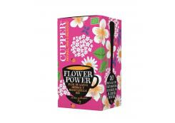 Cupper - Ecological infusion of elderflower, hibiscus and chamomile Flower Power - 20 Sachets