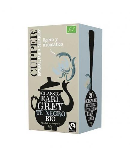 Cupper - Ecological black tea Classic Earl Grey - 20 Bags