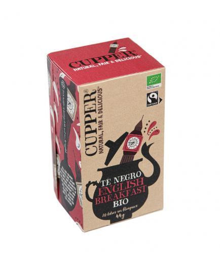 Cupper - Ecological black tea English Breakfast - 20 Bags