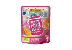 Danival - Organic sweet potato and ginger cream 520g
