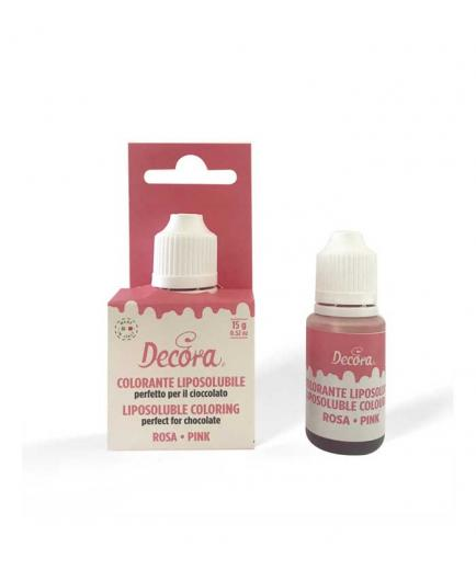 Decora - Fat-soluble coloring 15g - Pink