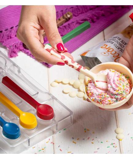 Decora - Cucchiaino teaspoon polycarbonate mold