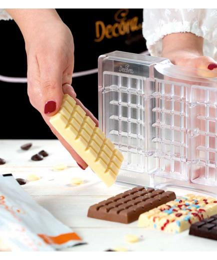 Decora - Polycarbonate mold for La classica barretta chocolate bar
