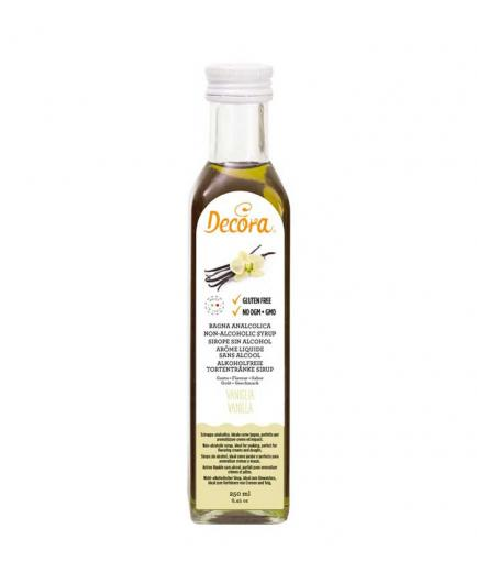 Decora - Syrup without alcohol 250ml - Vanilla