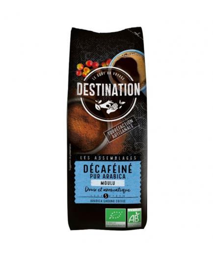DESTINATION - 100% Arabica Ground decaffeinated coffee