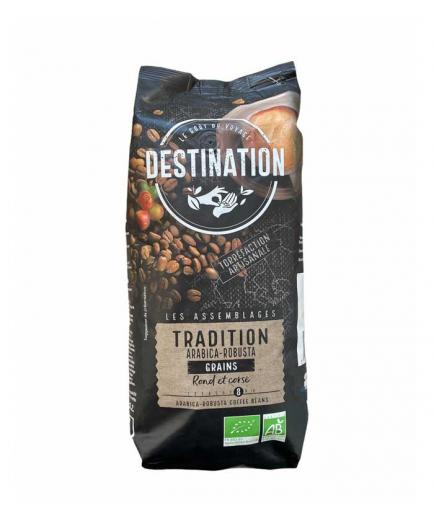 DESTINATION - Organic bean coffee of Arabica tradition and robust 1kg