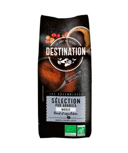 DESTINATION - Ground coffee selection of 100% Arabica natural roast