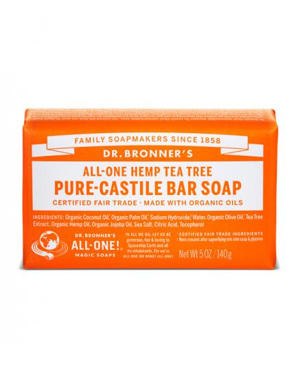Dr. Bronner´s - Organic Castille Bar Soap - Tea Tree