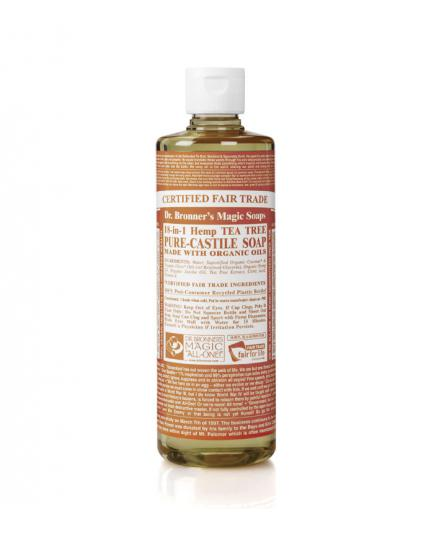 Dr. Bronner´s - Organic Castile Liquid Soap - Tea tree - 473ml