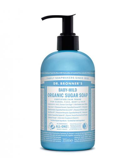 Dr. Bronner´s - Organic Pump Sugar Soap - Naked Unscented