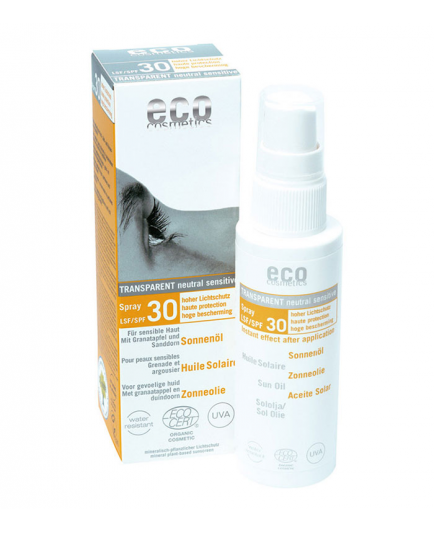 ECO Cosmetics - Spray FPS 30 - Sun Oil SPF 30 Spray, 50ml