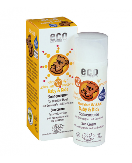 ECO Cosmetics - Protector Solar Baby & Kids FPS 45