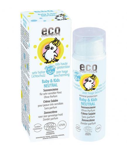 ECO Cosmetics - Baby & Kids Neutral Sun Cream SPF 50+