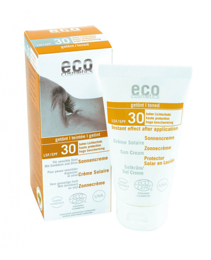ECO Cosmetics - Protector Solar FPS 30 con Toque de Color