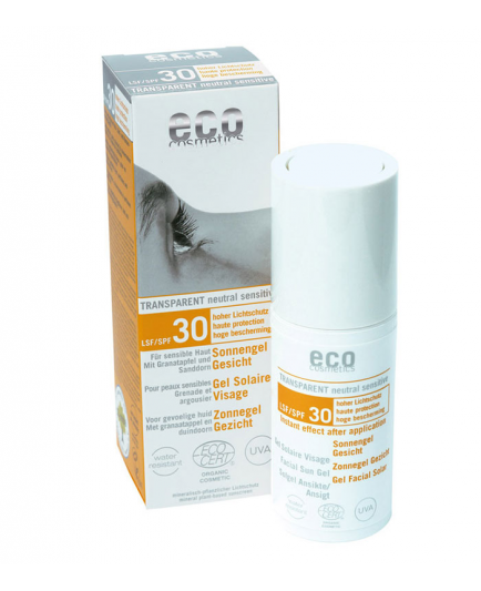 ECO Cosmetics - Facial Sun Gel SPF 30, 30ml