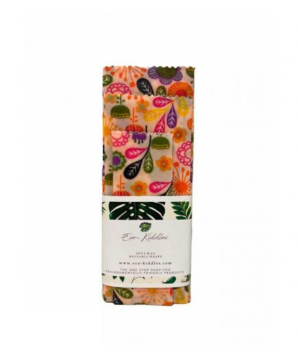 Eco Kiddles - Vegan Reusable Wrapping Paper - Floral