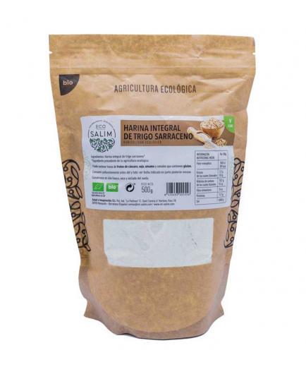 Eco Salim - Whole wheat buckwheat flour Eco 500g