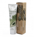 ecodenta - toothpaste whitening ecological certificate - Papaya