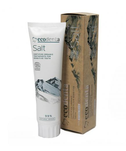 ecodenta - Toothpaste ecological certificate for sensitive teeth and gums