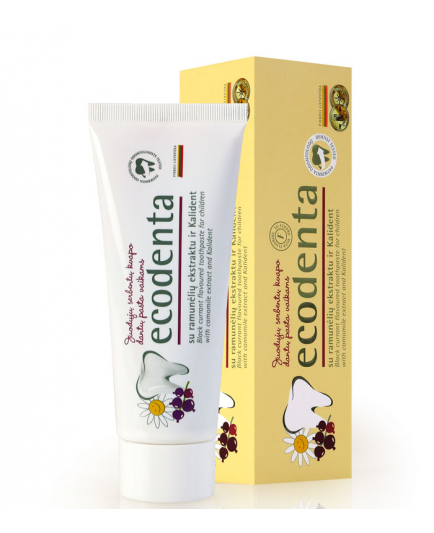 ecodenta - Black currant flavoured toothpaste for children