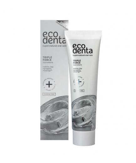 ecodenta - Triple effect toothpaste ecodenta fluoride-free