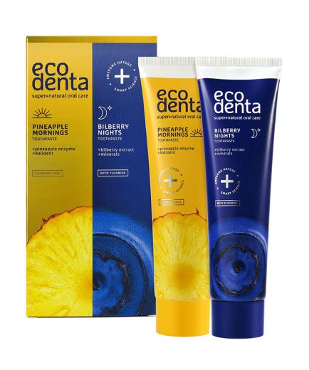 ecodenta - Toothpaste set morning and night